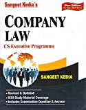 Sangeet Kedia's Company Law for CS Executive Dec. 2017 Exam