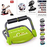 Xn8 Sports ABS Core Fitness Trainer Smart Body Exercise Machine Workout AB Toning Gym Home Equipment, Green: