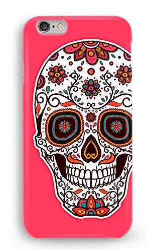 Funda Carcasa Calavera Mexicana para iPhone 6 6S plástico rígido