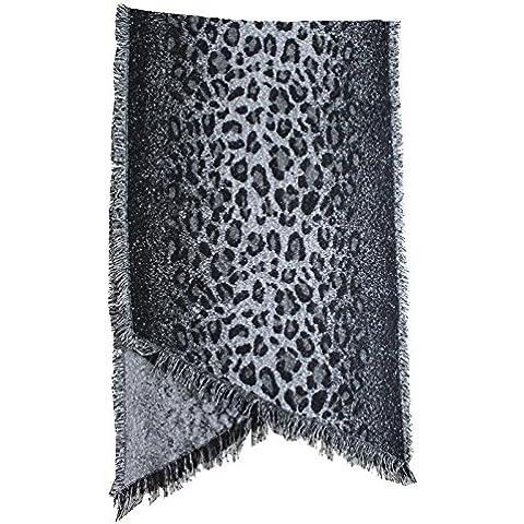 BAI-Leopard spessa angolata, tessuti di uomini e donne della sciarpa