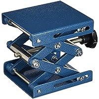 Neolab électrique 1706Lab polissage Pad Lift, léger avec revêtement en poudre en métal martelé en acier 100mm x 100mm