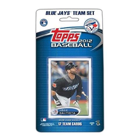 MLB Toronto Blue Jays 2012 Topps Team Set