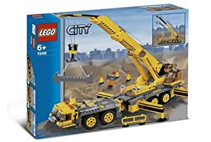 Lego city jeu de construction la grue mobile xxl jeux et jo - Jeux de grue de construction gratuit ...