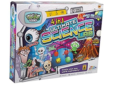 Children kids giant 4 in 1 ultimate science experiment lab