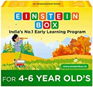 Einstein Box for 4, 5 and 6 Year Old Kids Toys for Baby Boys and Girls, Learning and Educational Gift Pack of
