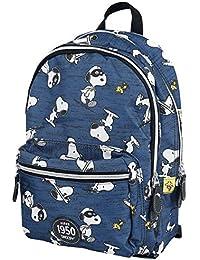 Peanuts Snoopy Mochila Azul