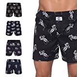 D.E.A.L International 5-er Set Boxershorts mit Motiven Größe XL