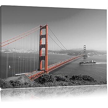 Eindrucksvolle Golden Gate Bridge Schwarz Wei 223 Format
