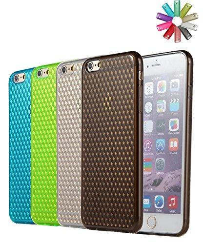 "Bralexx Coque de protection pour Samsung Galaxy S5 G900F / HTC One M8 / Sony Xperia Z2 / Sony Xperia Z1 Effet diamants, Apple iPhone 6 (4,7""), Ensemble Ensemble"