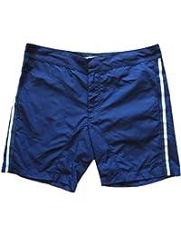 FENDI ROMA costume da bagno uomo boxer pantaloncini FXB060 2NB F0QB0 navy 48 7f1a670b91a4