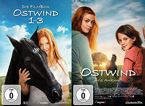 Ostwind 1-3 + Ostwind 4 - Aris Ankunft - alle 4 Kinofilme im Set (4 DVDs)
