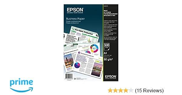 Epson C13S450075 Papier für Tintenstrahldrucker A4 500 Blätter 80 g ...