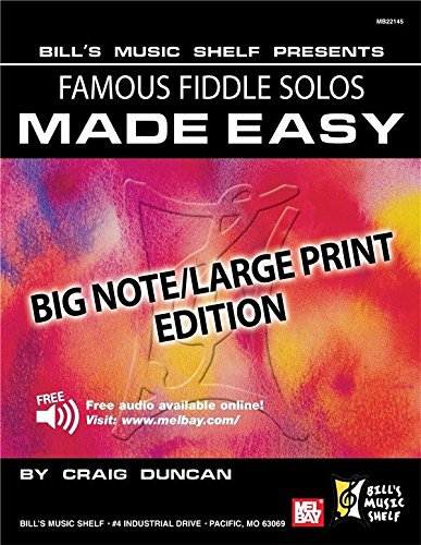 Famous Fiddle Solos Made Easy - Big Note...