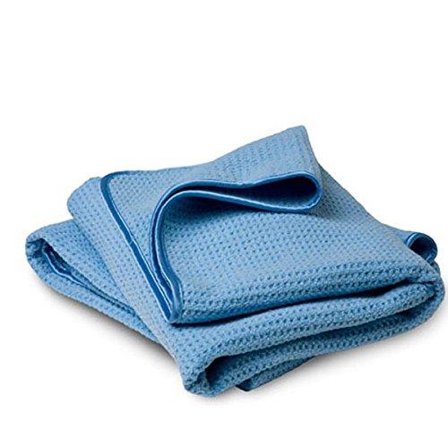 3 Stück Craft-Equip 400GSM Trockenwunder Microfasertuch blau 40 x 60cm 1214