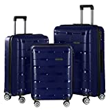 Best Luggage Sets - Nasher Miles Santorini PP Hard-Sided Luggage Set Of Review