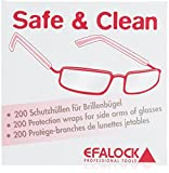 Efalock Professional Safe and Clean Brillenschutz, 1er Pack, (1x 200 Stück)