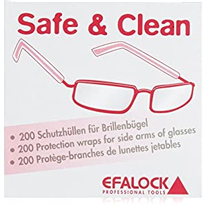 Efalock Professional Safe and Clean Brillenschutz, 1er Pack, (1x 200 Stück)