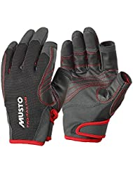 Musto Performance Long Finger Gloves BLACK AS0822 Sizes- - ExtraLarge