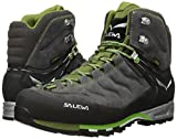 Salewa Herren Trekking- und Wanderstiefel MS MTN Trainer Mid GTX, Grau (Pewter/Emerald 4052), 43 EU (9 Herren UK) -