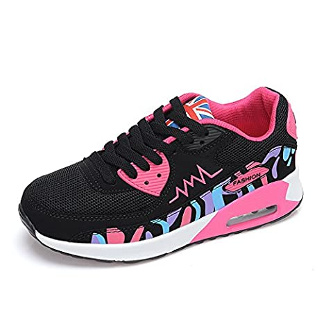 Peggie House Baskets Chaussures Jogging Course Gym Fitness Sport Lacet Sneakers Style Running Multicolore Respirante Femme