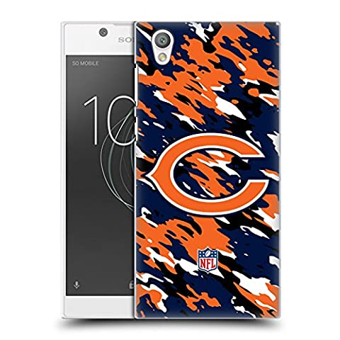 Official NFL Camou Chicago Bears Logo Hard Back Case for Sony Xperia L1
