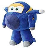 Super Wings Small Plush Toys Jerome Avión de jueguete Felpa Azul - Juguetes de Peluche (Avión de jueguete, Azul, Super Wings, Felpa, 4 año(s), Jerome)