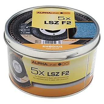 Fächerschleifscheiben Fächerscheiben 125 mm INOX K80 Fächerschleifer 5 Stück