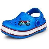 iBaste Niños Niñas Zuecos de verano luces fluorescentes de las sandalias de los zapatos LED zuecos sanitarios zapatos brillantes zapatos de la playa