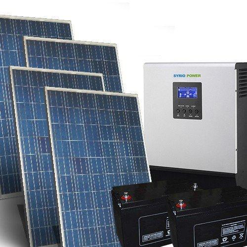 Bausatz Solarhaus Pro 1,5Kw 24V Photovoltaik-System Eigenstandige der Insel