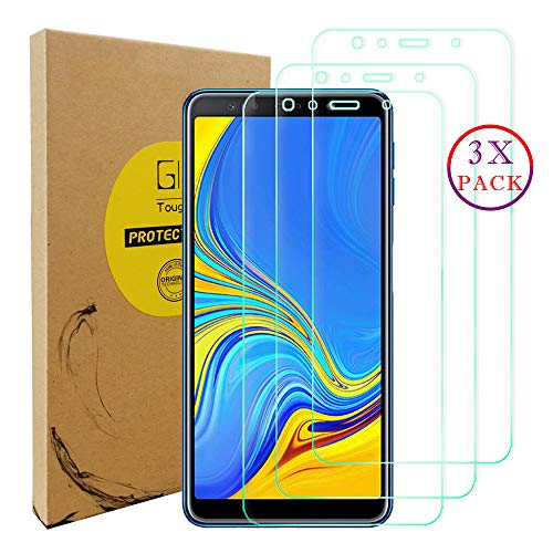 KISCO für Samsung Galaxy A9 2018/A9 Star Pro/A9S Panzerfolie Displayschutzfolie,3 Pack[HD Anti-Fingerabdruck] Transparent Tempered Glass Displayschutzfolie Schutzfolie für Samsung Galaxy A9 2018