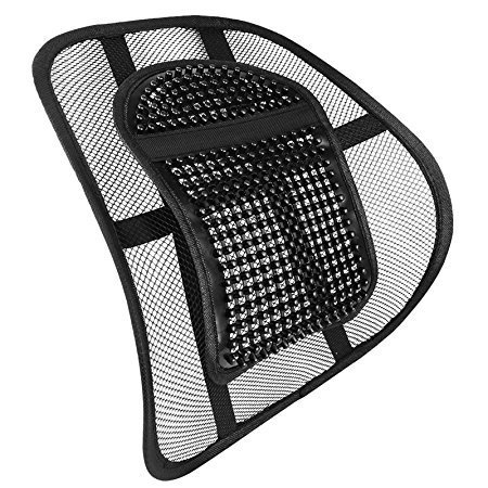 LORDOSENSTÜTZE Nova Rückenstütze Rückenkissen für Autositz oder Bürostuhl (Lordosenstütze)