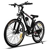 Oldhorse Vélo Électrique de Montagne VTT 25' à 21 Vitesses E-Bike avec...