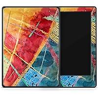Skins4u Amazon Kindle Paperwhite 2018 Skin Aufkleber Design Schutzfolie Wachsmaler