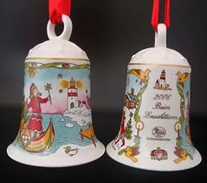 Hutschenreuther weihnachtsglocke 2006 beim leuchtturm ohne originalverpackung - Christbaumschmuck leuchtturm ...