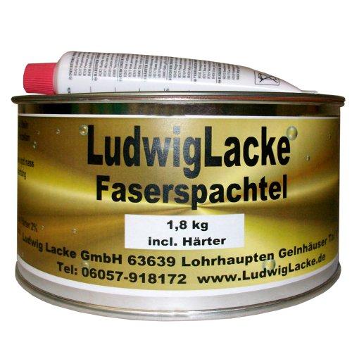 1,8 kg Set Glasfaserspachtel Faserspachtel Spachtelmasse Autolack