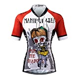 Thriller Rider Sports® Damen Manipuiated Sport & Freizeit MTB Fahrradbekleidung Radtrikot
