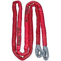 Kerbl 37706 Abschleppschlinge, Reißfestigkeit 35 t, 6 m, rot