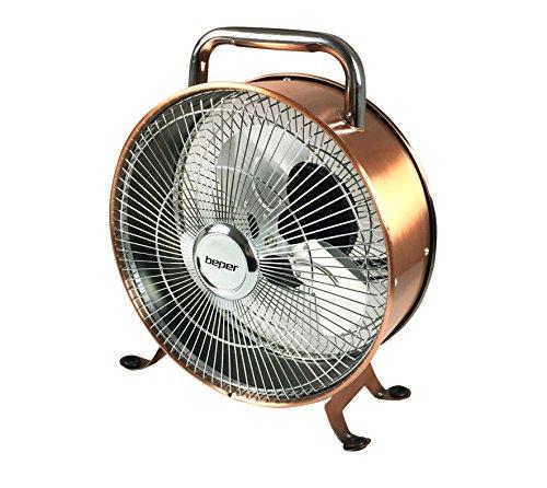 Beper VE, 450Prem-I-Air Ventilator Retro Stil, 15W, weiß/rot, 25cm