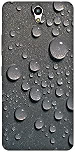 The Racoon Lean Raindrops hard plastic printed back case / cover for Lenovo Vibe S1