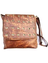 Trendy Brown Color Sling Bag/Cross-Body Purse/Handbag For Girls/Women
