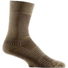 Wrightsock Coolmesh II Crew Sock - Khaki Small by Wrightsock