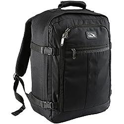Mini Bagage à Main Sac à Dos Metz d'une Capacité de 30 Litres – 45 x 35 x 20 cm. (Noir)