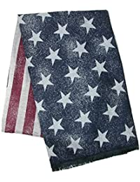 David & Young Women's USA Blanket Scarf