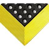 WEARWELL 476.58X 3X 5nbrbyl Industrial WorkSafe), 91cm x 152cm), color negro y amarillo