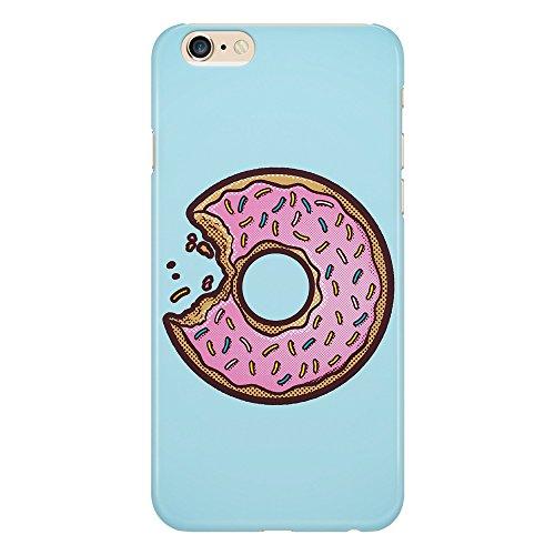 Cover custodia protettiva ciambella morso design donut zucchero candy dolce iphone 4/4s/5/5s/5se/5c/6/6s/6plus/6s plus samsung s3/s3neo/s4/s4mini/s5/s5mini/s6/note