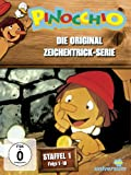 Pinocchio - Die Original Zeichentrick-Serie, Staffel 1, Folge 01-18 [3 DVDs]