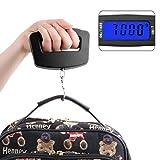 Varga 50Kg/10g Digital elektronische Tragbare Hängende Gepäck-Gewicht-Breite Haken-Skala
