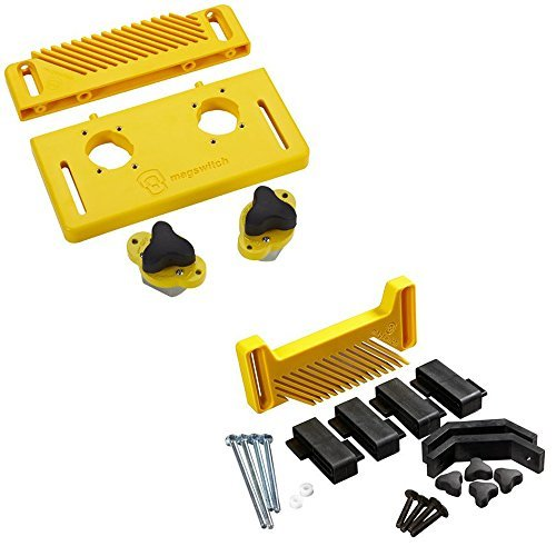 Featherboard Kit (Magswitch Starter Kit w/ Vertical Featherboard Attachment by Magswitch)