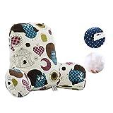 GH&YY Komfortable Baumwolle lordosenstütze Kissen, Bett Kissen Stuhl Lesung-Kissen Support für Kissen zurück T-förmige einfügen Sofa Sessel zurück unterstützt-E 55x42x20cm(22x17x8)
