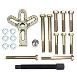 Hseamall, set di estrattori per bilanciamento armonico, estrattore per volante, puleggia per albero a gomito, 13 pezzi